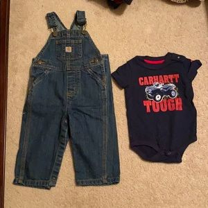 NWOT baby Carhartt outfit size 12 months